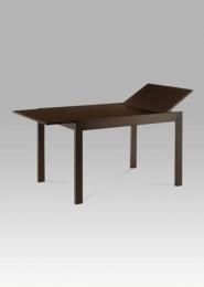 Jídelní stůl rozkládací, 120+44x80 cm, barva ořech (T-4645)