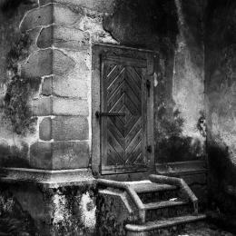 Obraz Tajemné dveře
