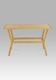 Stůl zahradní 120x70 cm, alu / umělý ratan