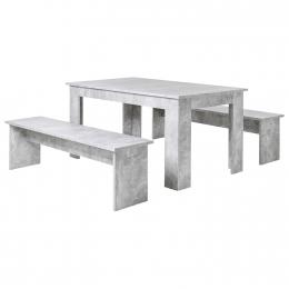 Jídelní sestava MUNCHEN 140 beton
