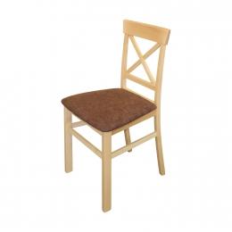 Jídelní židle GIORNO buk/tmavě hnědá