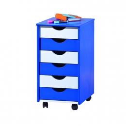 Beppo - kontejner modro / bílý