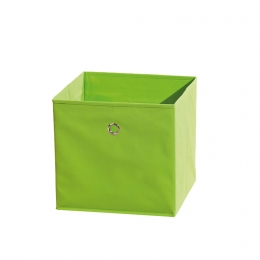 Winny - textilní box, zelený