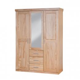 Celso - šatní skříň se zrcadlem