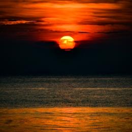 Obraz Západ slunce v Malajsii