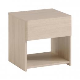 Noční stolek PLEASE dub sesame