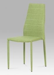 Jídelní židle látka zelená