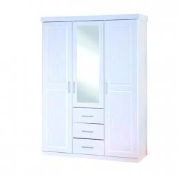 Geraldo - šatní skříň se zrcadlem