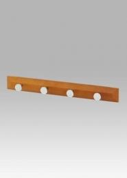 Věšák dřevěný - 4x háček