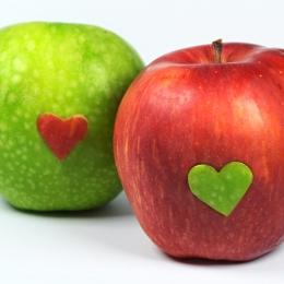 Obraz Zamilovaná jablka 2