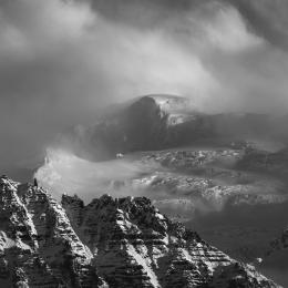 Obraz Vrchol Islandského ledovce