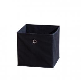 Winny - textilní box, černý