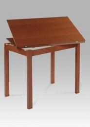 Jídelní stůl rozkládací 60+60x90 cm, třešeň