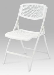 Sklápěcí židle, bílá