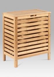 Koš na prádlo, lakovaný bambus