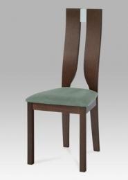 Jídelní židle BEZ SEDÁKU masiv buk, moření ořech