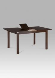 Jídelní stůl rozkládací 120+30x80 cm, barva ořech