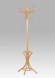 Věšák dřevěný - barva dub, v. 186 cm
