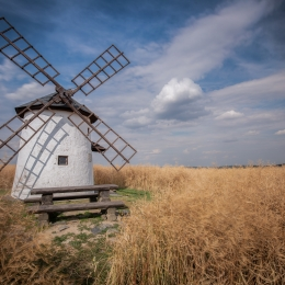 Obraz Balerův větrný mlýn