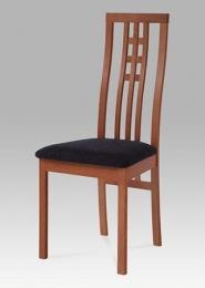 Jídelní židle BEZ SEDÁKU masiv buk , barva třešeň