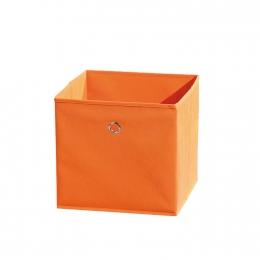 Winny - textilní box, oranžový