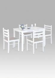 Set 1+4, 114x71 cm, barva bílá