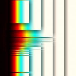 Obraz Duha ve čtverci