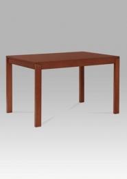 Jídelní stůl rozkládací, 120+44x80 cm, barva třešeň (T-4645)