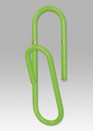 Nástěnný věšák, zelený kov