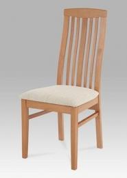 Jídelní židle BEZ SEDÁKU /sedák BE810-S/, barva buk