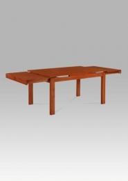 Rozkládací jídelní stůl 150+45+45x90 cm, barva třešeň